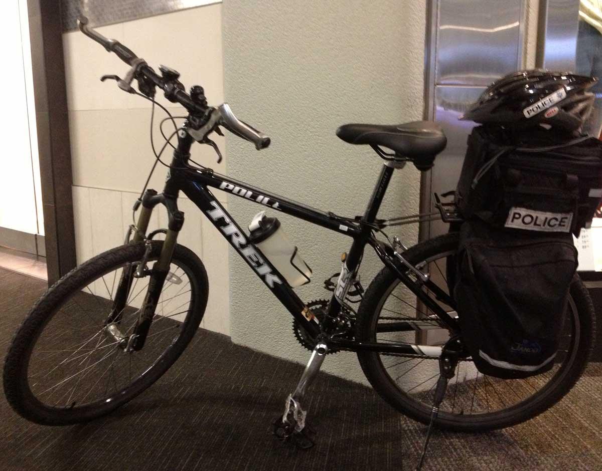SF SFO PD Bike