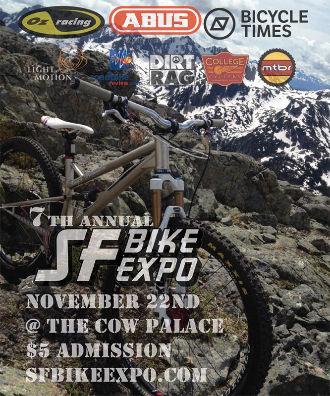 SF Bike Expo - flyer