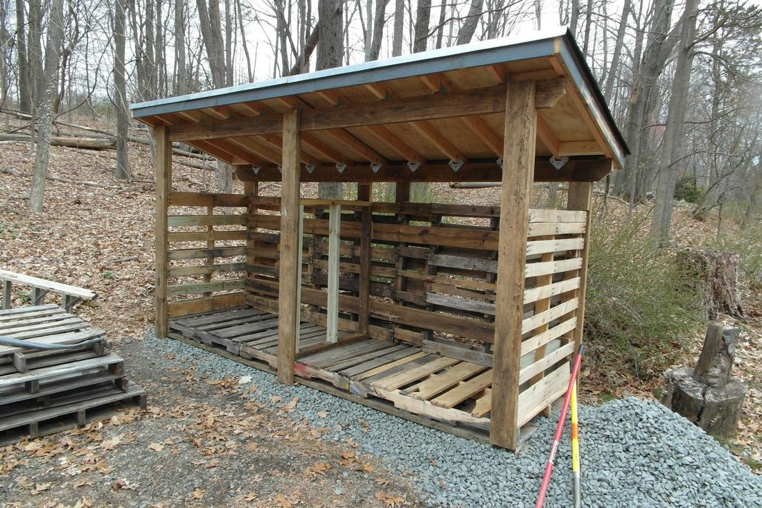 Channeling my inner Okie: Woodshed build-shed2.jpg