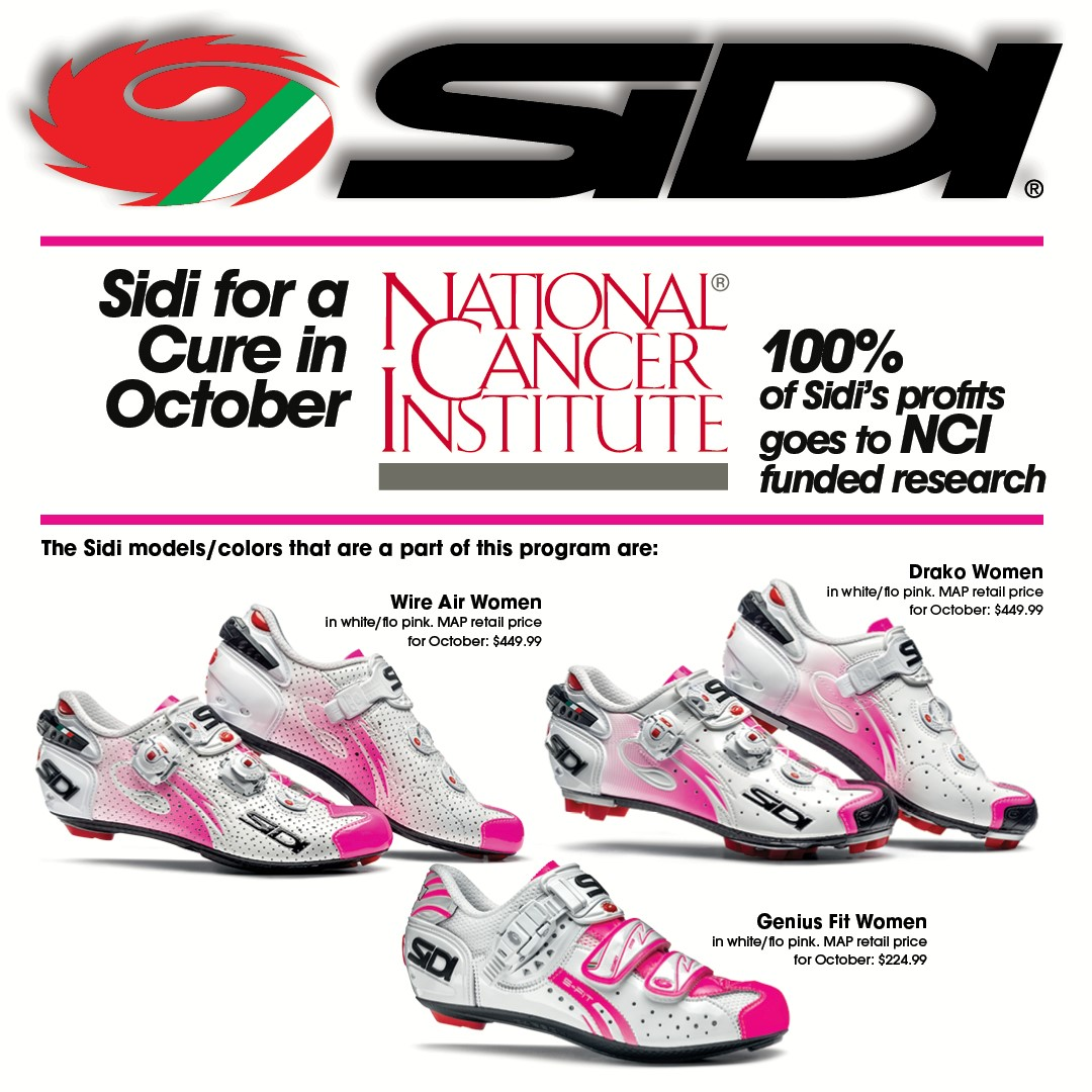 Sidi is donating 100% of their profits on select womens shoes for the month  of e2a22ace4