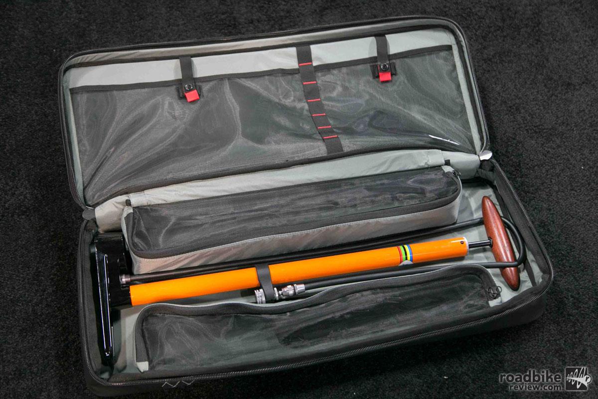 Silca pista Travel Bag and Pump