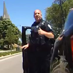Karma Police: Cop comes to the defense of tailgated cyclist