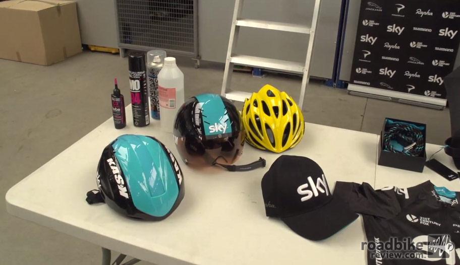 Team Sky Service Course
