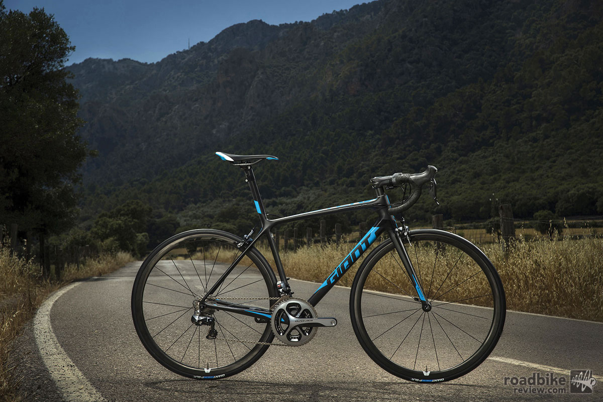 The $9000 2016 Giant TCR Advanced SL. Photo by Sterling Lorence