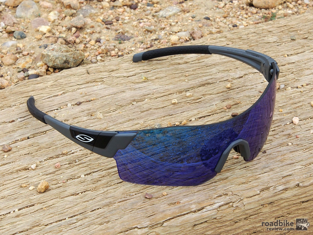 Hallmarks of these new shades are a tighter wrap, shorter temple arms, and the addition of special skin-gripping material.