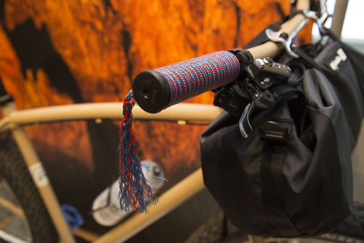The bike - dubbed the Smith Rocket - pays homage to the area's rich rock climbing history.