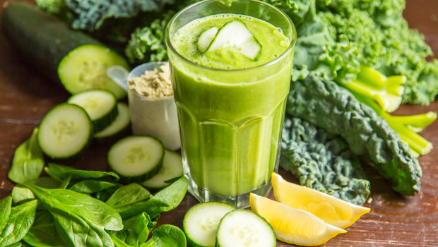 This delicious concoction is easy to digest, has a bright, refreshing flavor, and is rich with vitamins, minerals, and anti-inflammatory foods.
