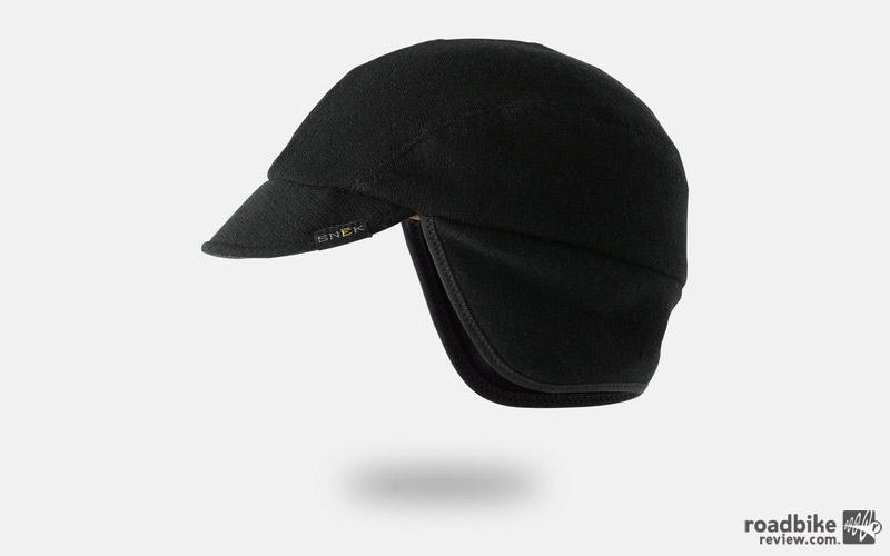 The Merino fabric cap has a flexible brim that won't break when stuffed into a jersey pocket or backpack.
