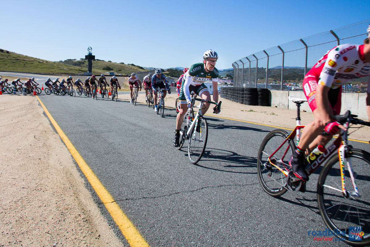 Men's pro field takes on the Laguna Seca Circuit Race