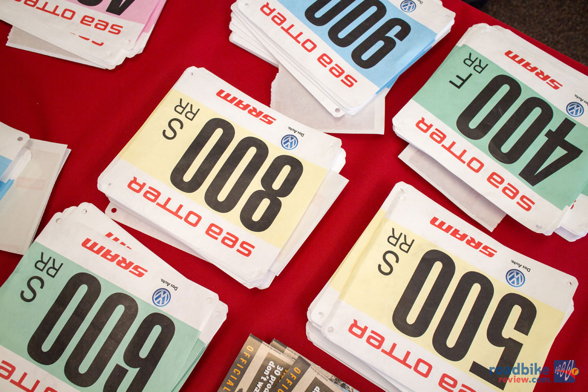 Sea Otter Race Numbers