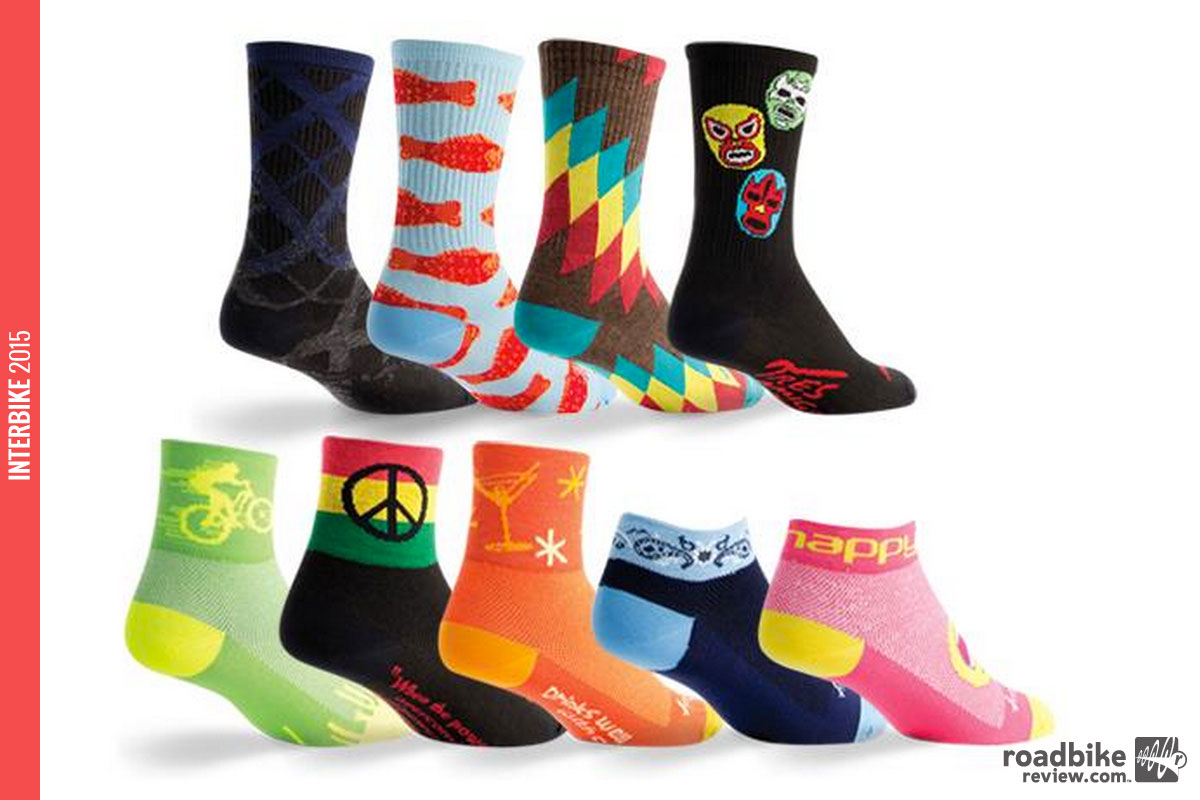 There's something for everyone in this new sock line-up.
