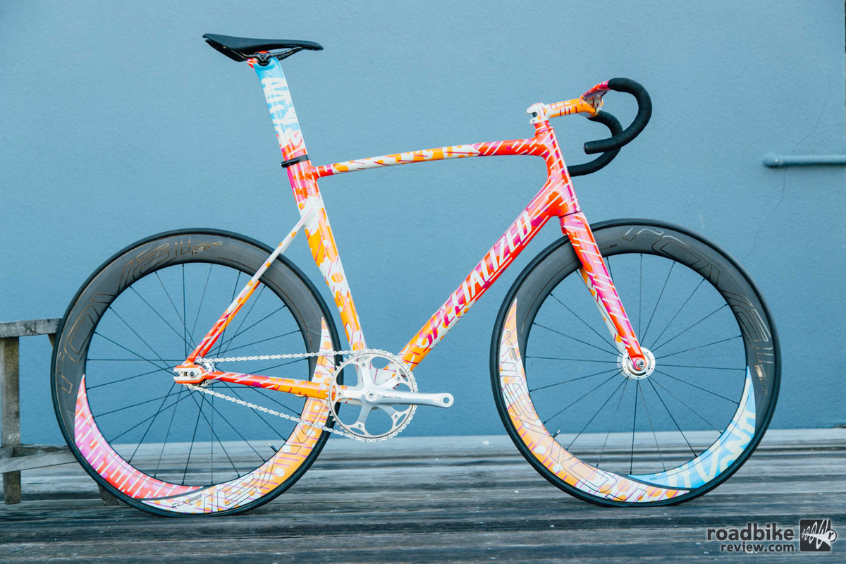 Four Gorgeous Red Hook Crit Specialized Bikes Road Bike