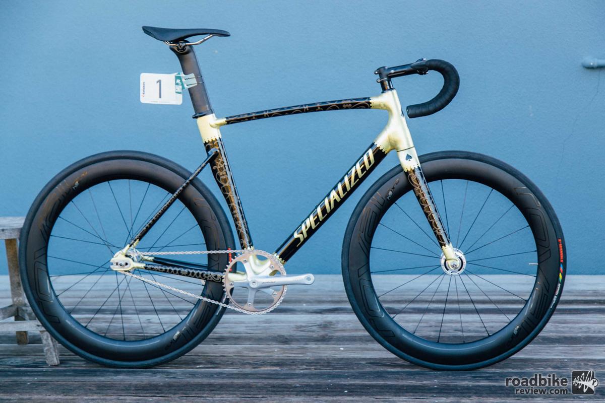Specialized Redhook Crit London Art Track Bikes Jon Takao
