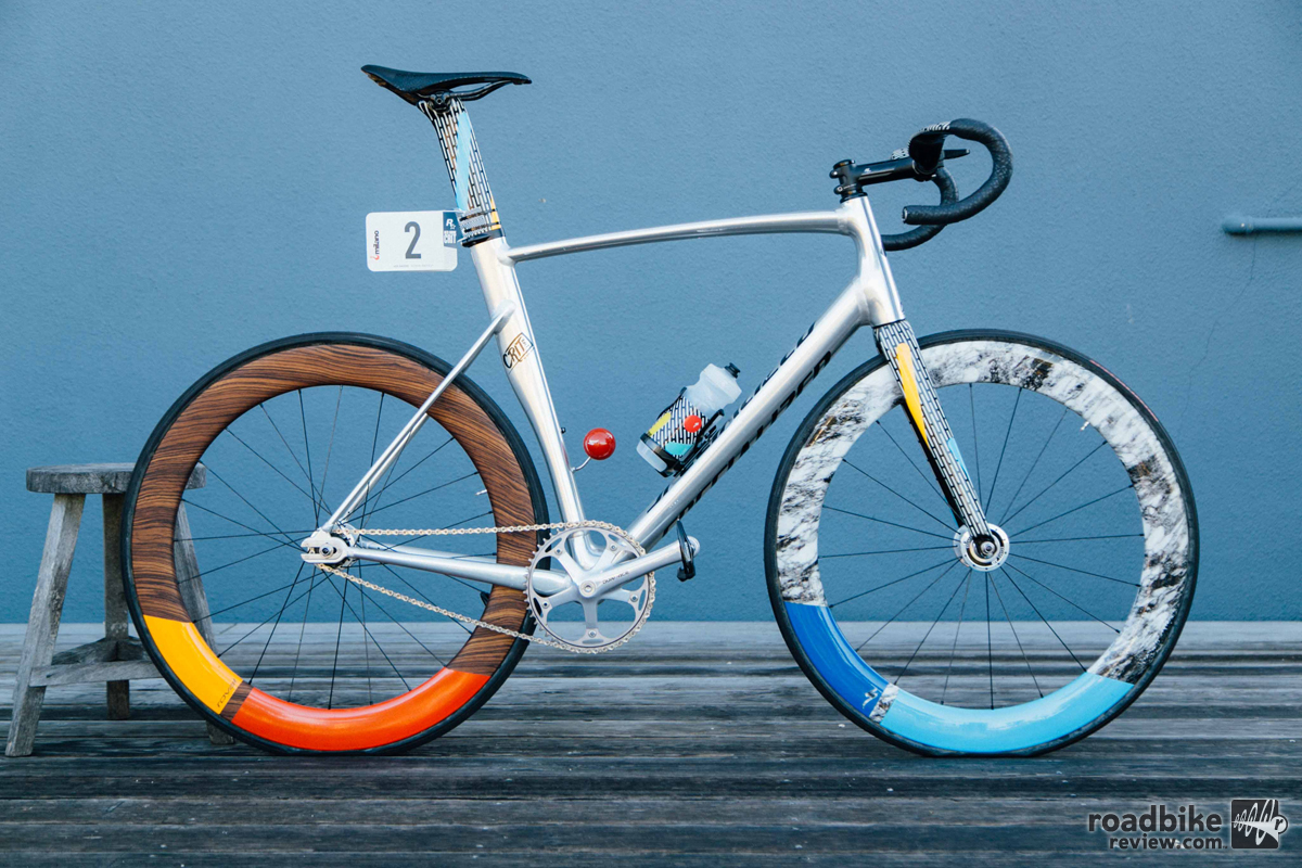 Specialized Redhook Crit Milano Art Track Bike