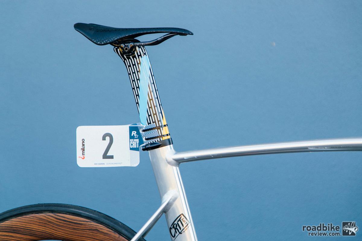 Specialized Redhook Crit Milano Art Track Bike