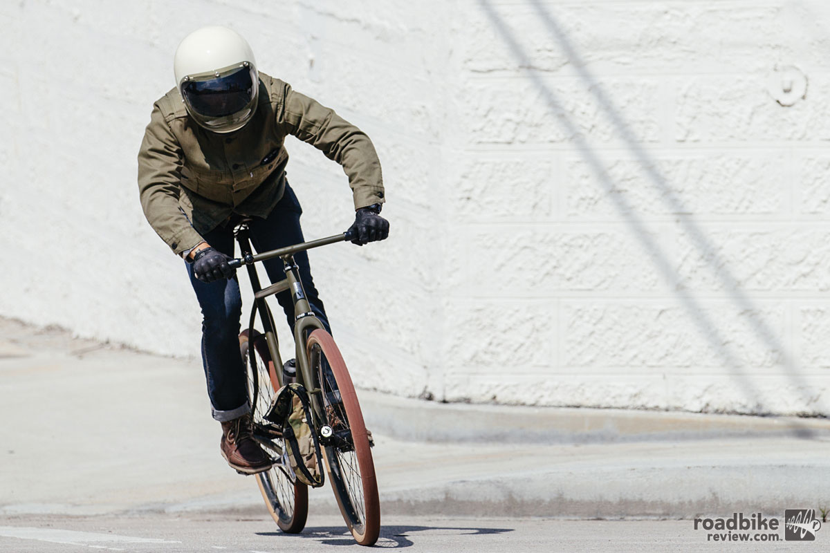 When you can't be late to work, the Urban Racer is the choice. Photo by John Watson/The Radavist