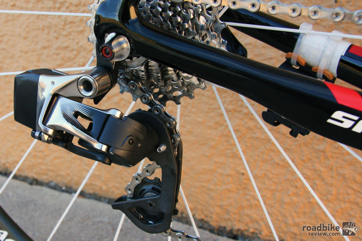 Spotted  Polished Sram Wireless Shifting Drivetrain