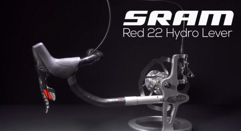 New SRAM Hydro-R Brakes