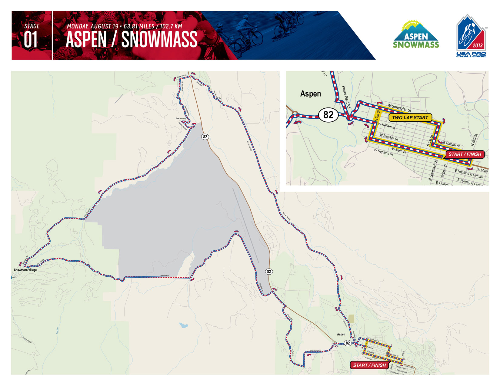2013 USA Pro Challenge Route Features Extreme Elevation | Road Bike ...