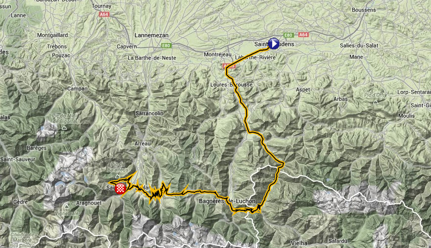 Stage 17 Map