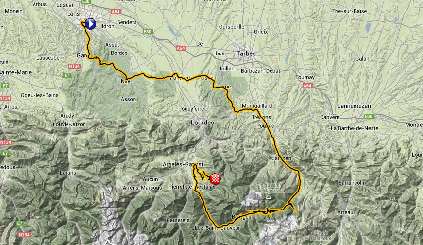 Stage 18 Map