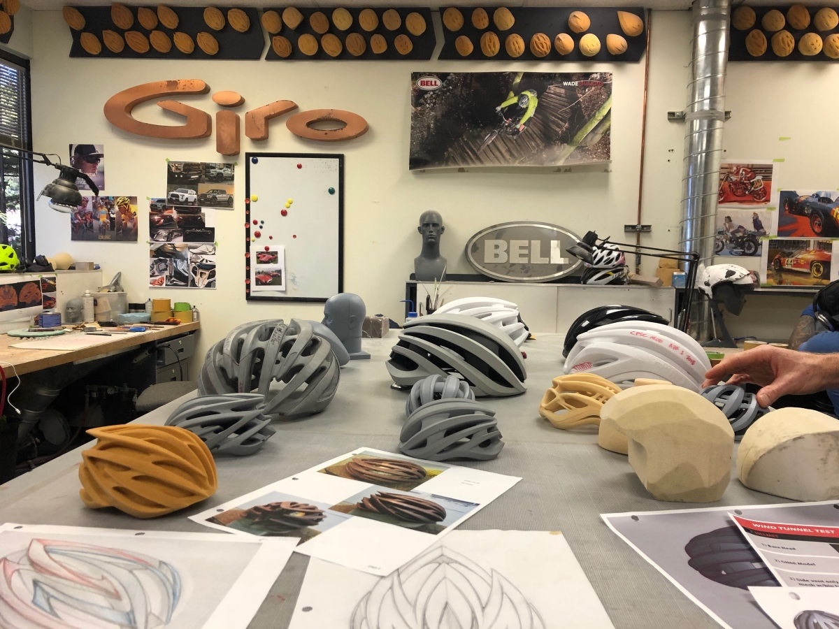 It took lots of iterations to come to the final design of the new Aether MIPS helmet.