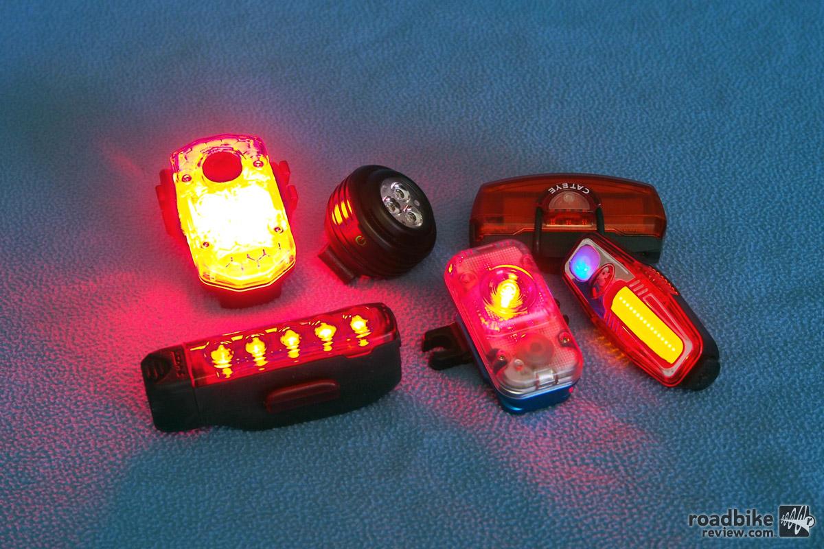 2016 Bike Lights Shootout Commuter Lights Road Bike