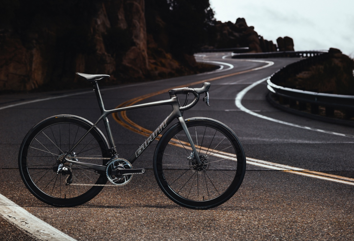 The new TCR Advanced SL Disc has been updated in numerous ways. Photo by Cameron Baird