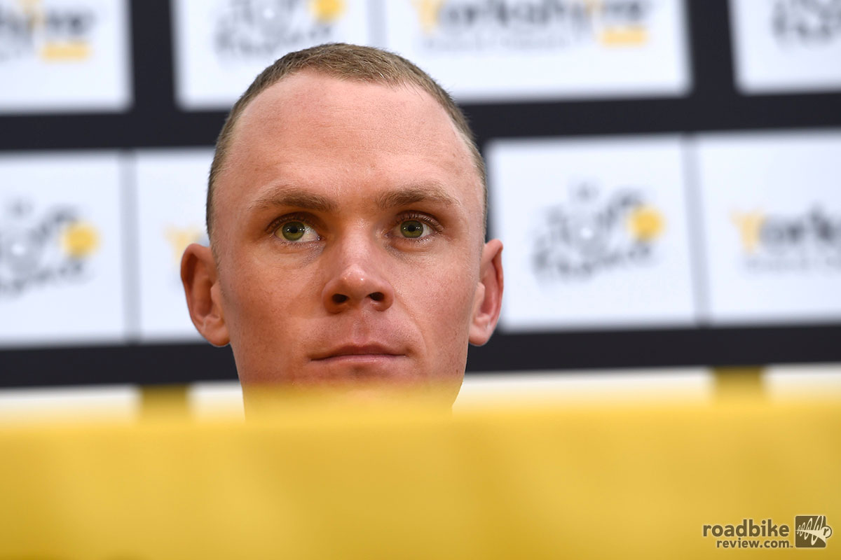 Chris Froome's Stare