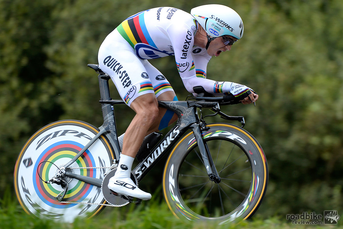 Tony Martin flies Stage 20