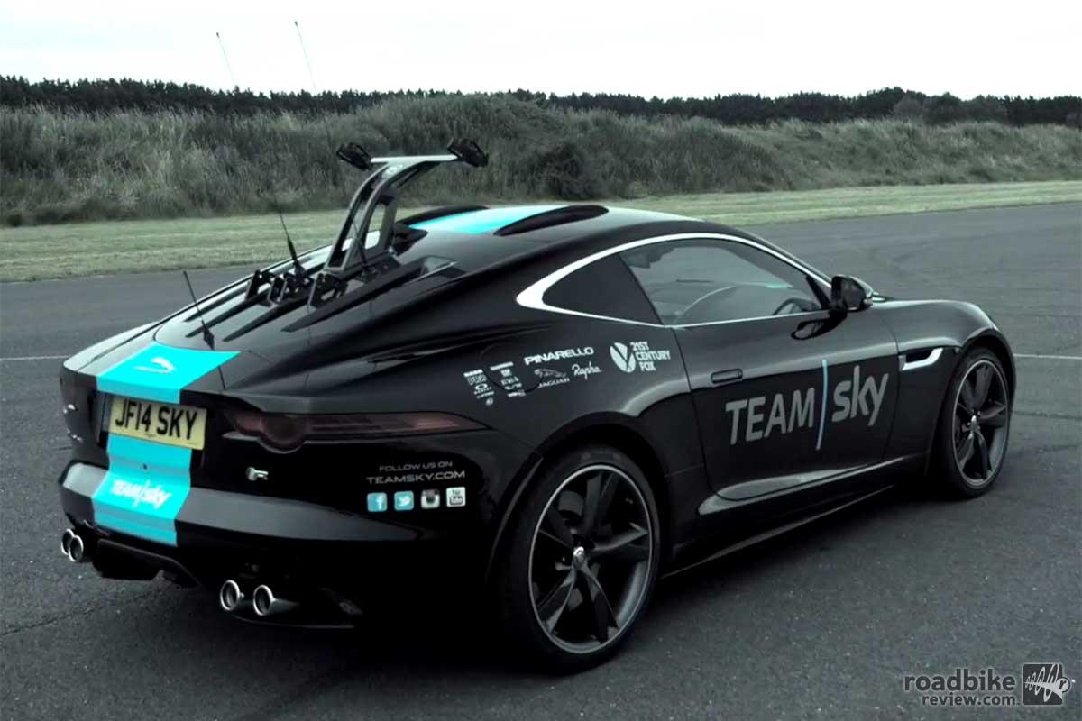 Team Sky-Jaguar TTeam Car