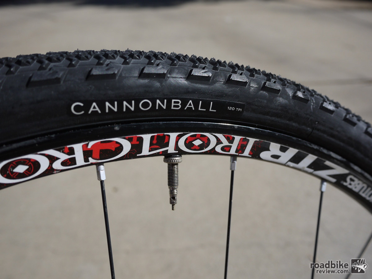 Teravail's Cannonball is a great option, if it'll fit in your bike. The 38mm was a big 41.5mm wide on our test rims.