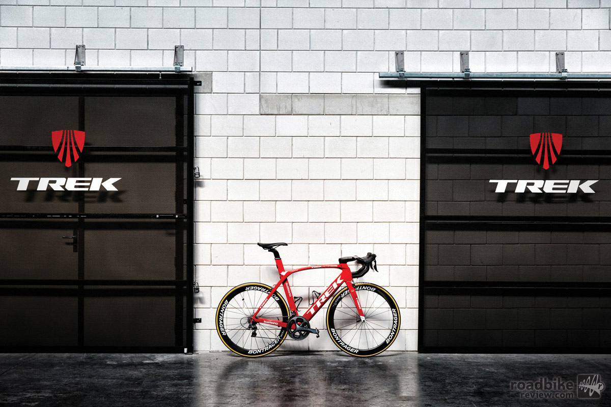 The new more aero Madone fills what had been a hole in the company's road bike line-up.