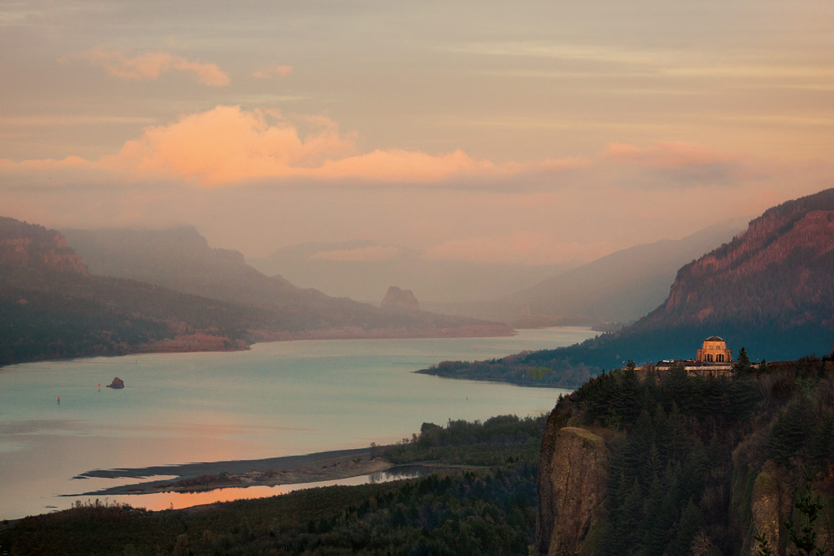 The Columbia River Gorge has a huge variety of terrain.