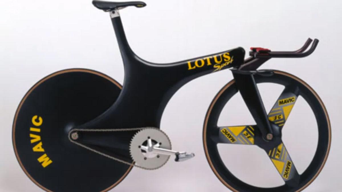 The famed Lotus Bike