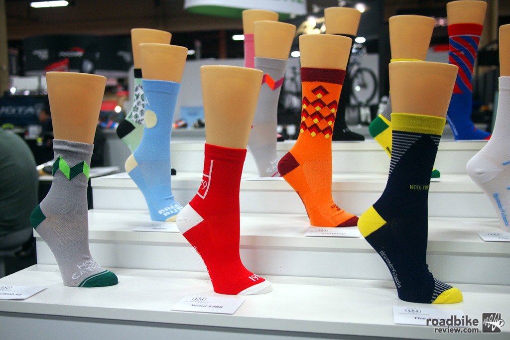 The Wonderful Socks is an Italian brand that uses polypropylene and carbon in their handmade sock line.