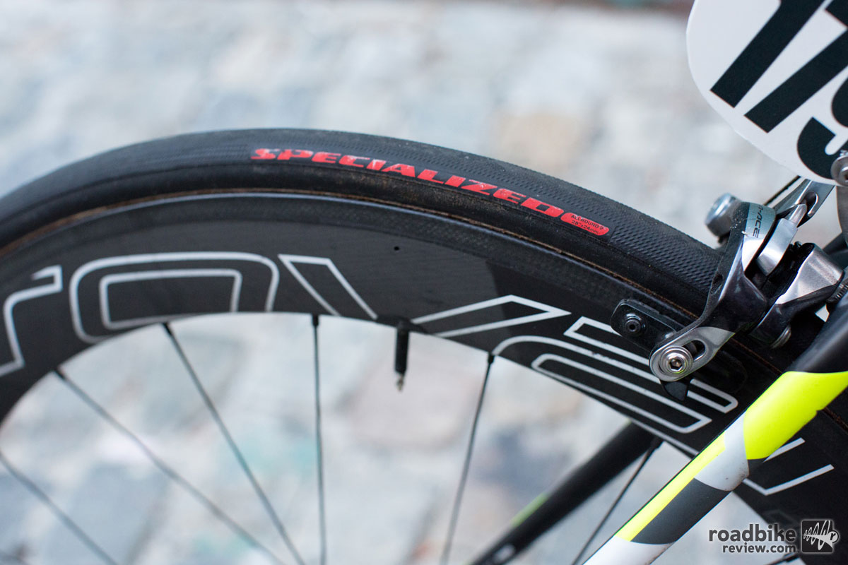 Tires are Specialized AllRound 2 tubulars.