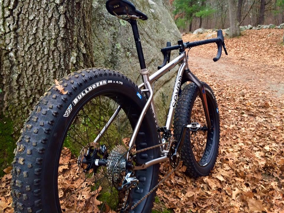Best Snow Tires >> Seven Treeline SL + Drop bars = FUN Road-ish Bike :)