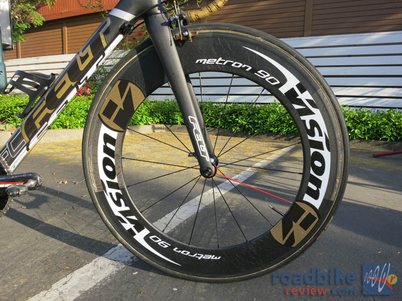 Team Exergy Vision Wheels GOLD