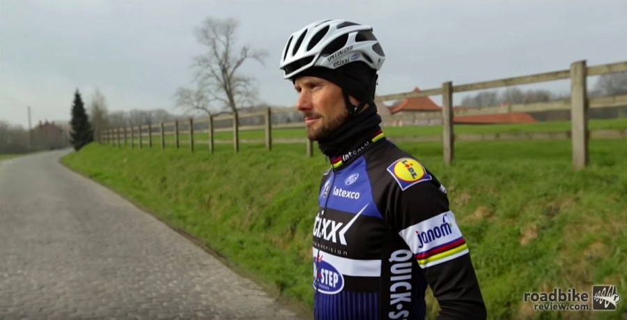Riding Paris-Roubaix cobblestones with Tom Boonen