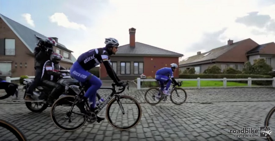 Riding the cobbles requires a mix of power and panache.
