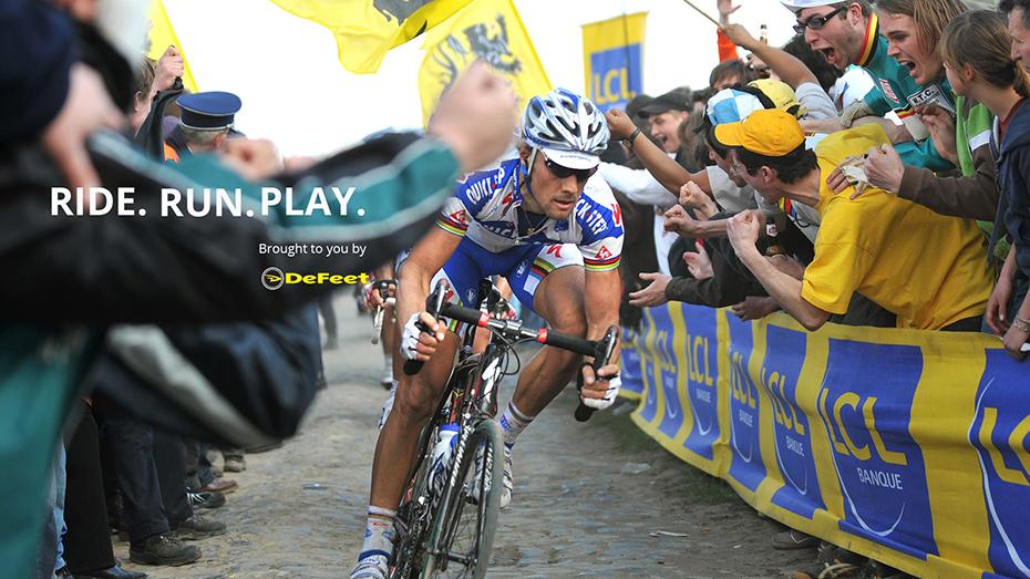 Tom Boonen Paris-Roubaix 2008 Defeet