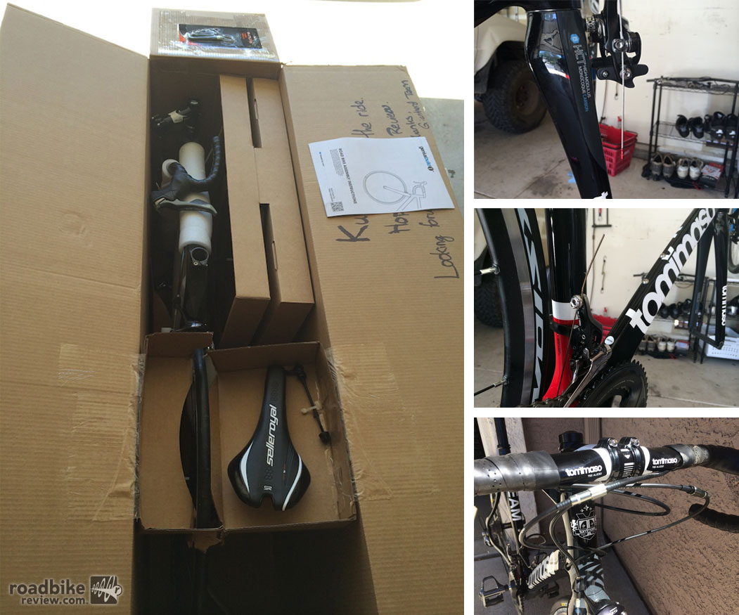 Tommaso Superleggera Box, Brake, Derailleur, Housing