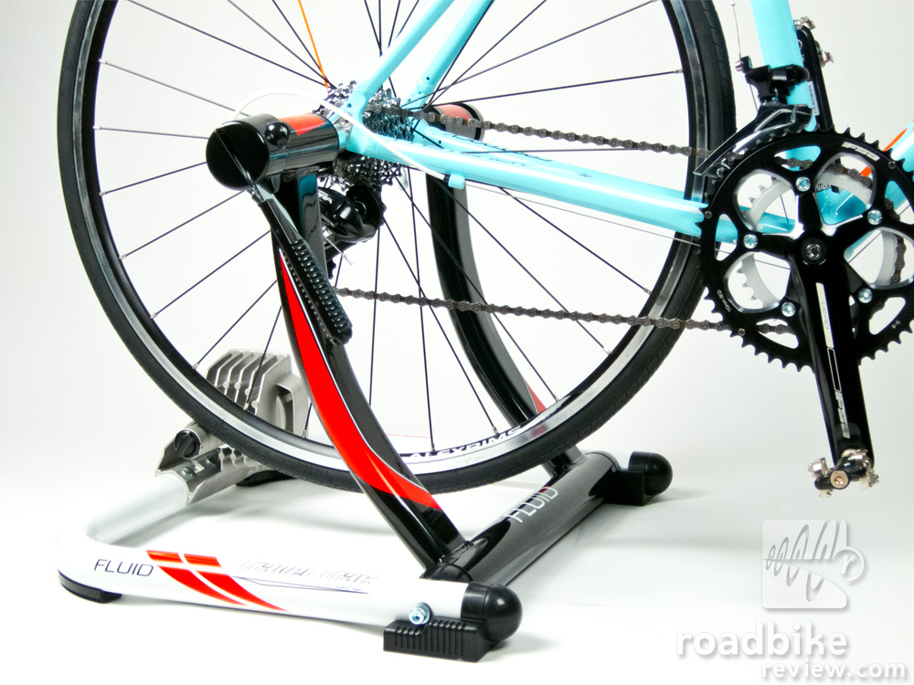 Travel Trac Fluid Trainer Review Road Bike News Reviews