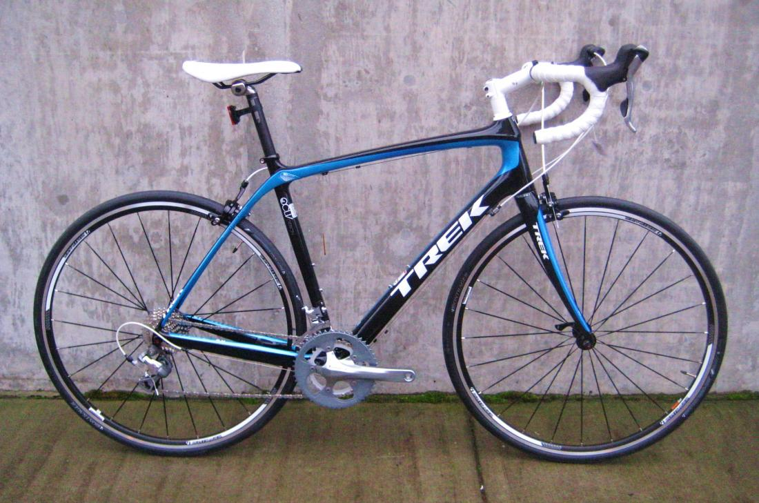Test ride on a Trek Domane 4.0 (and Cannondale Synapse 105)