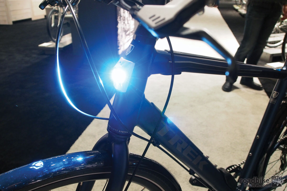 Trek Lync Light Turned On