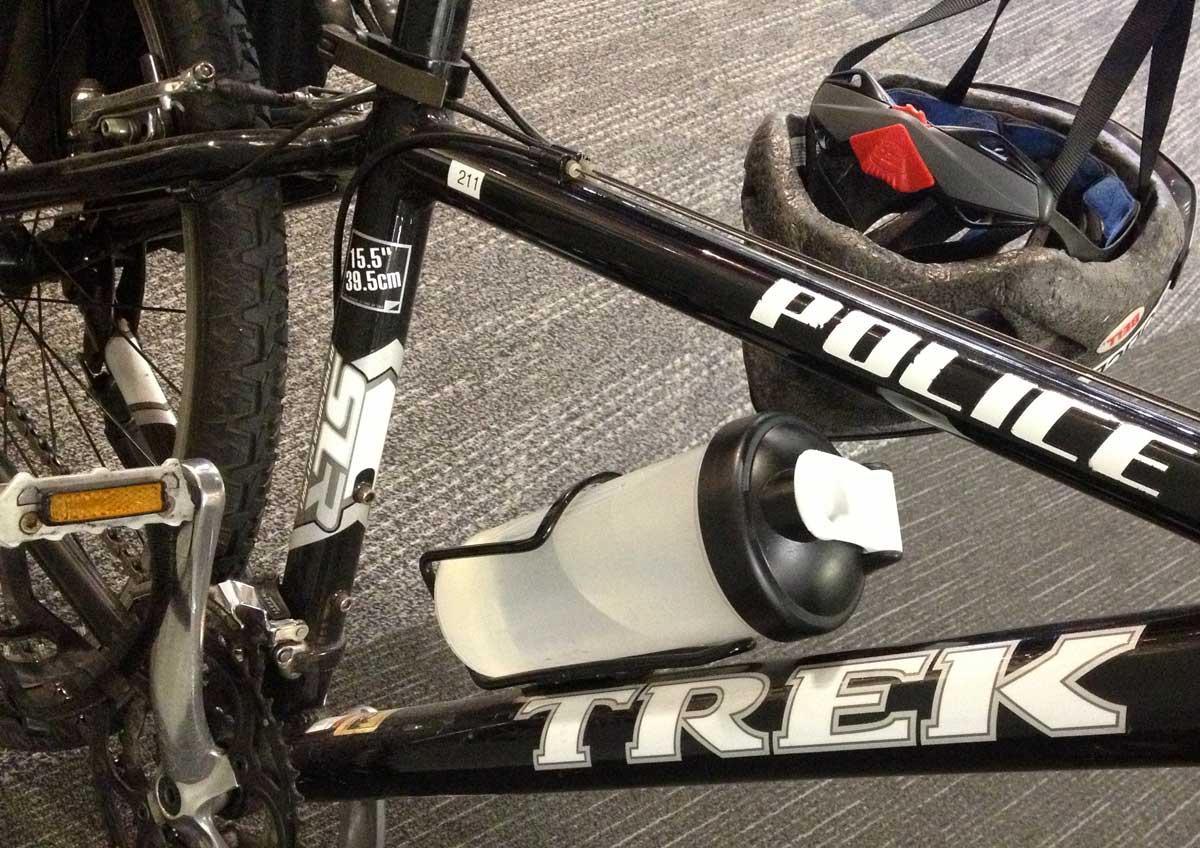 Trek Police Bike Frame