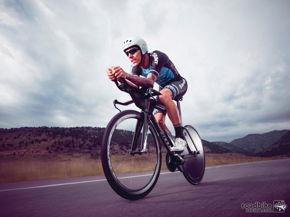 Van Berkel won the Ironman 70.3 Sunshine Coast triathlon in home country of Australia while riding a prototype version of the Trinity Advanced Pro.