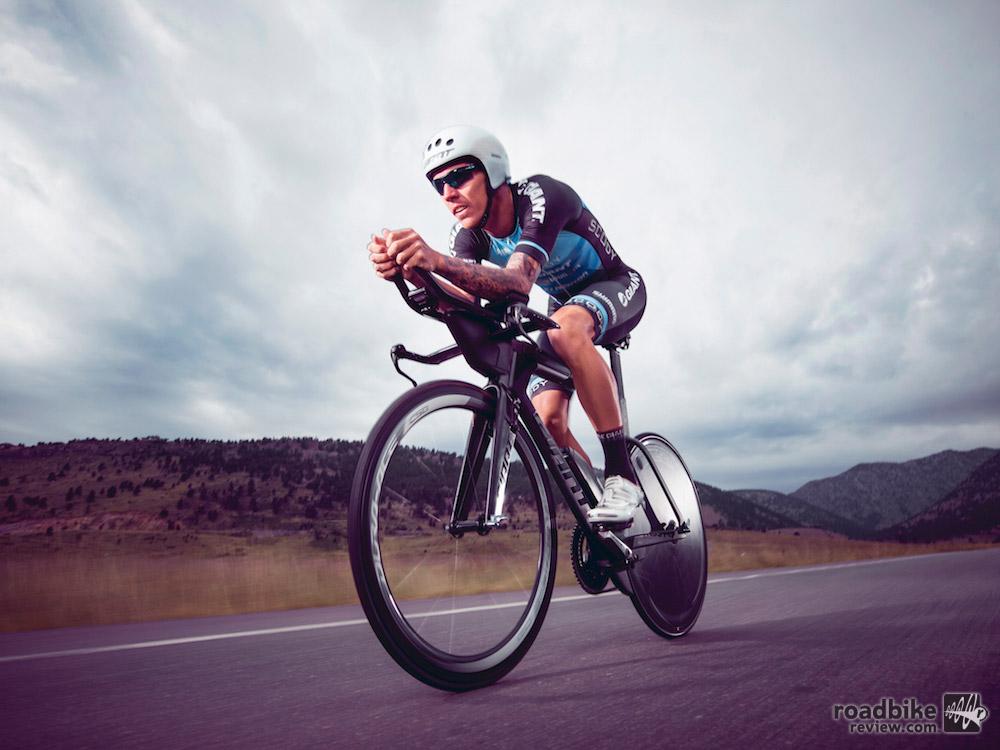 Tim Van Berkel won the Ironman 70.3 Sunshine Coast triathlon in home country of Australia while riding a prototype version of the Trinity Advanced Pro.