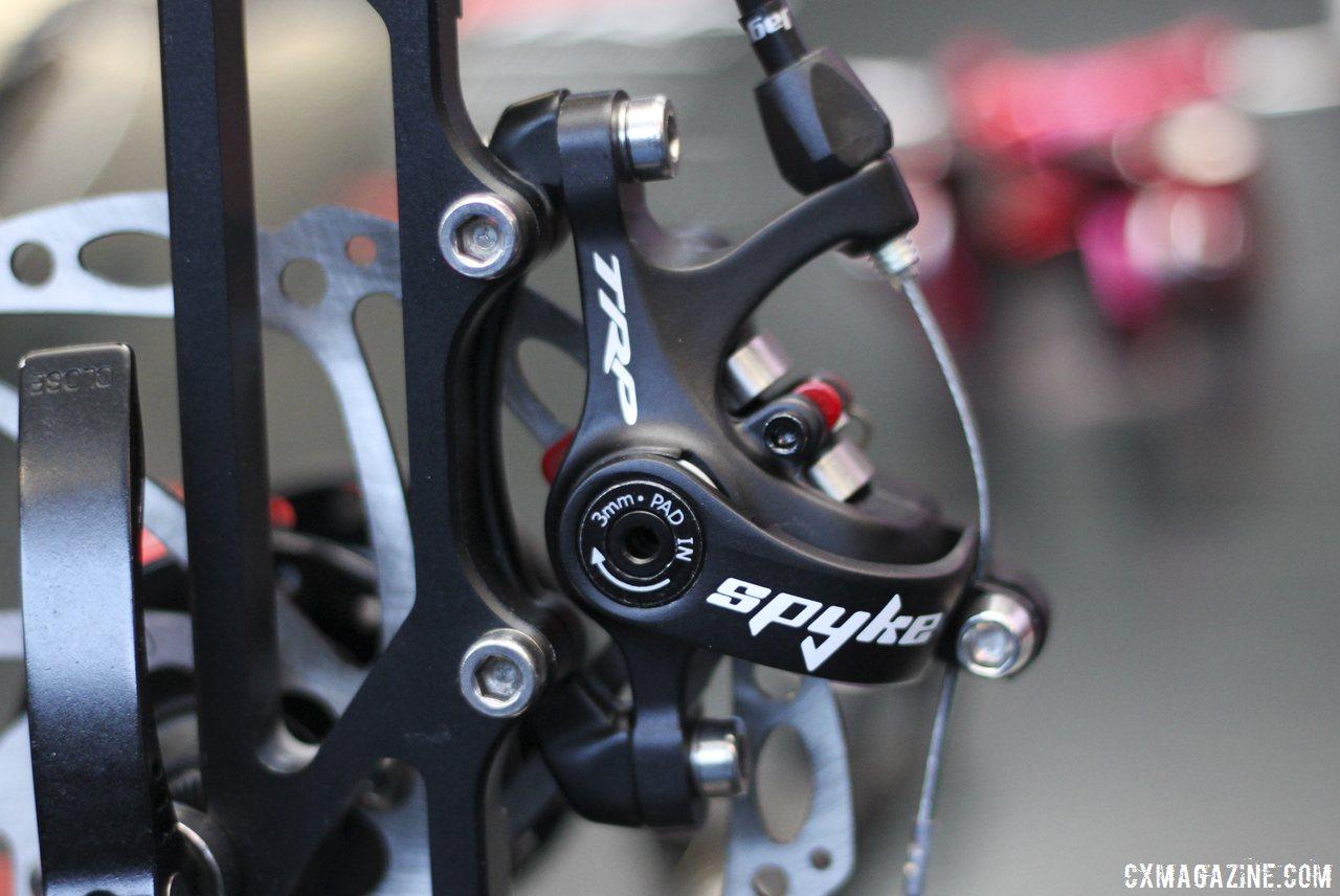 Trp Brakes Unveils Improved Spyre Mechanical Disc Brake